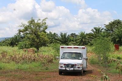 Ambulance in the Bush