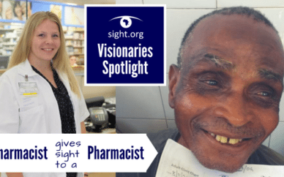 Pharmacist Gives Sight to a Pharmacist